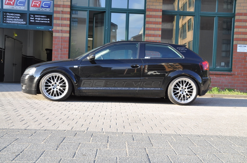 "Audi A3 8P H&R Tiefe Version 19"" BBS Speed Line"
