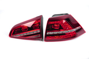 VW Golf 7 mk VII R LED taillights amber US